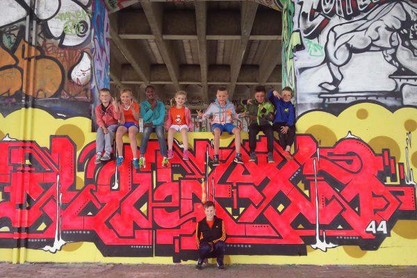Graffiti feestje