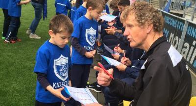 Kinderfeestje bij FC den Bosch
