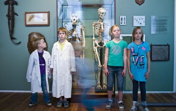 Het Jeugdlab in het Universiteitsmuseum