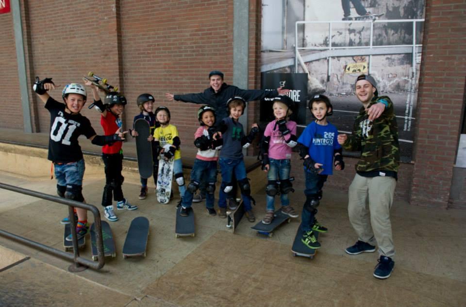 Skatefeestje bij Skatepark Sweatshop