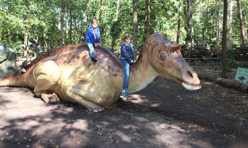 Dinofeestje in het Oertijdmuseum