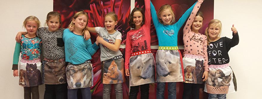 Creatief feestje bij Nicole KidsArt