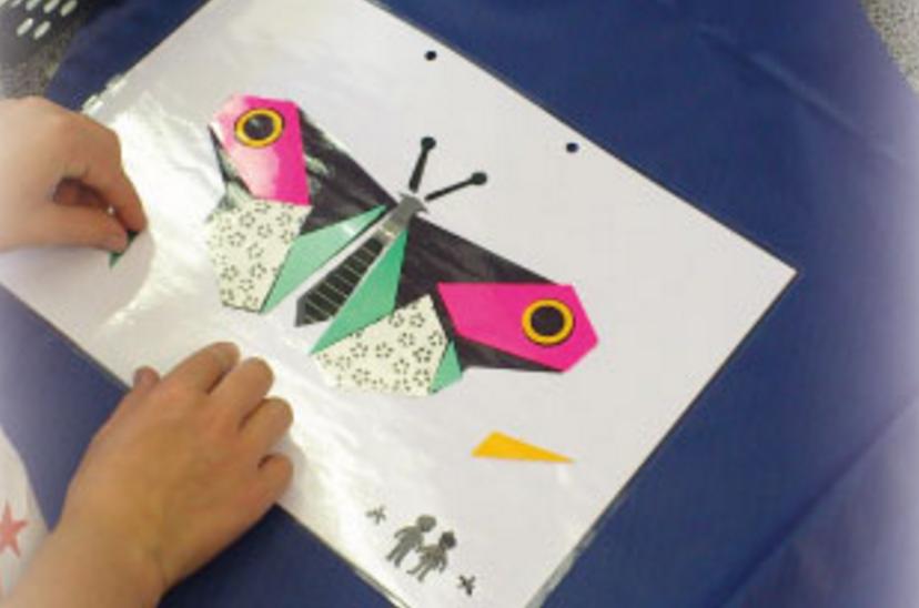 Vliegers maken bij Its for my Kids