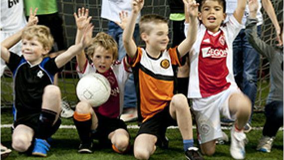 Voetbalfeestje bij Soccerhome