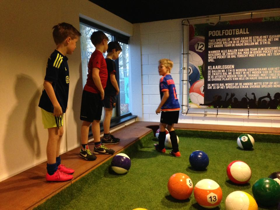 Poolfootball bij Soccerhome